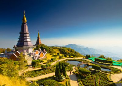 the highest mountain in Thailand.