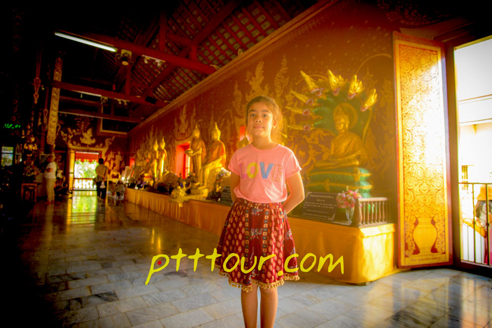 old city temple in Chiangmai was chiang Man