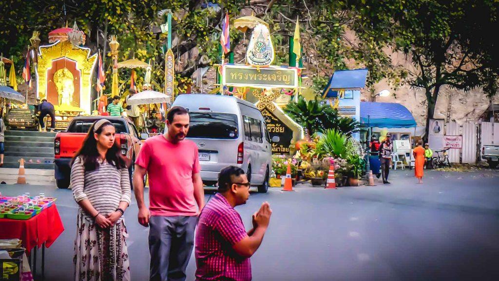private tour visit of Wat Phra That Doi