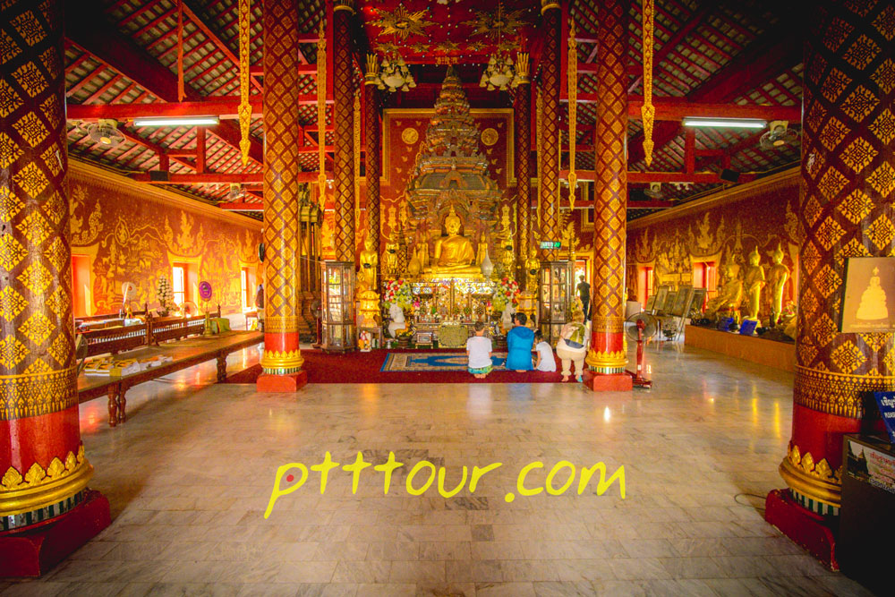 The Wat Chiang Man is the oldest temple in Chiang Mai