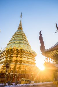 Morning Alms Giving Ceremony, Doi Suthep Tour and Wat Pha Lat